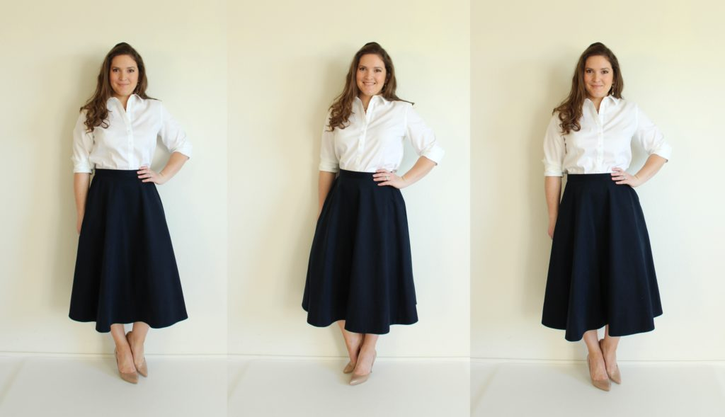 how to add pockets to a circle skirt