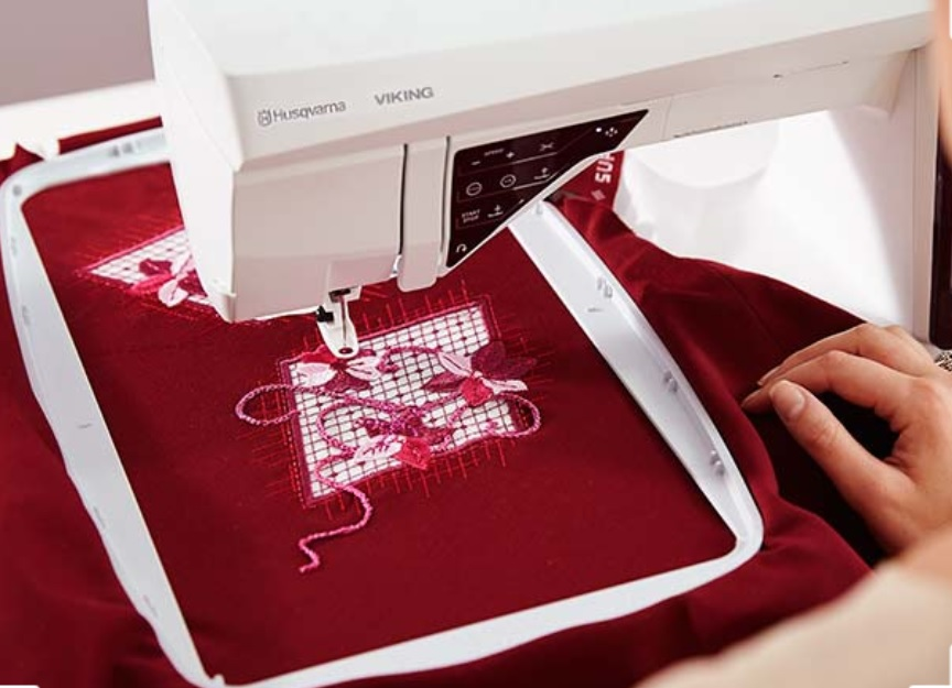 True Royalty Fall Sewing Projects With The DESIGNER RUBY Royale Best Husqvarna Designer Ruby Sewing Machine